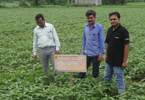 Soy Farmers program with Government of Madhya Pradesh